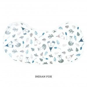 Indian Fox Burp & Bib