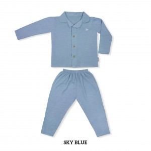 SKY BLUE Toddler Pjs Set