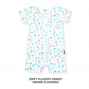 MINNIE FLAMINGO Zippy Playsuit Disney