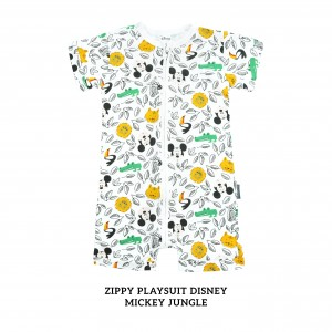 MICKEY JUNGLE Zippy Playsuit Disney