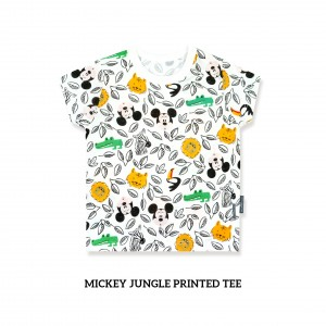 Mickey Jungle Printed Tee