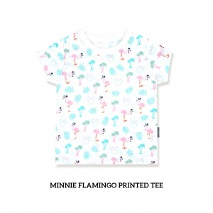 Minnie Flamingo Printed Tee