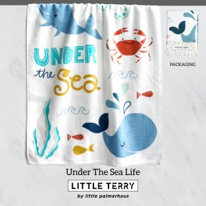 UNDER THE SEA LIFE LITTLE TERRY TOWEL