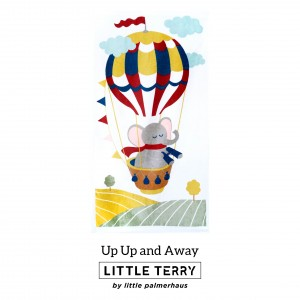 UP UP AND AWAY LITTLE TERRY TOWEL