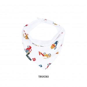 Trucks Bandana Bib