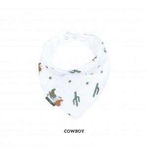 Cowboy Bandana Bib