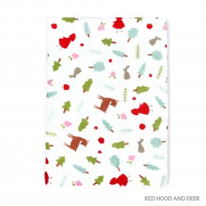 Red Hood And Deer Tottori Baby Towel