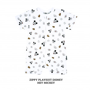 HEY MICKEY Zippy Playsuit Disney