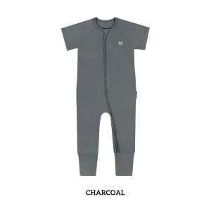 CHARCOAL Baby Sleep & Play Suit
