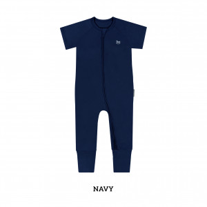 NAVY Baby Sleep & Play Suit