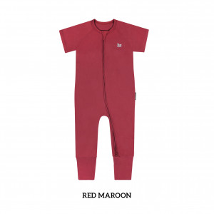 RED MAROON Baby Sleep & Play Suit