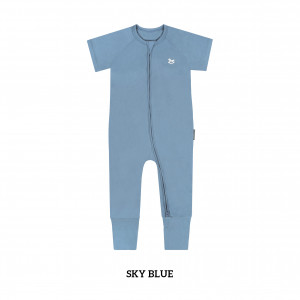 SKY BLUE Baby Sleep & Play Suit