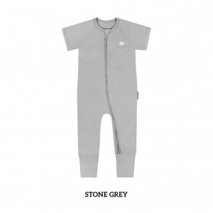 STONE GREY Baby Sleep & Play Suit