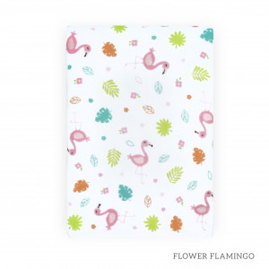 Flower Flamingo Tottori Baby Towel