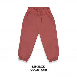 RED BRICK Jogger Pants