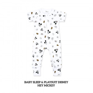 HEY MICKEY Baby Sleep & Play Suit