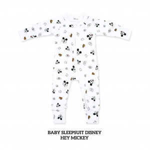 HEY MICKEY aby Sleepsuit Disney