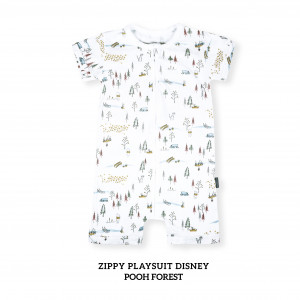 POOH FOREST Zippy Playsuit Disney