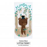 GUITAR BEAR LITTLE TERRY TOWEL