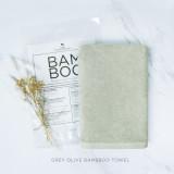 Grey Olive Bam & Boo Bamboo Towel