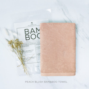 Peach Blush Bam & Boo Towel