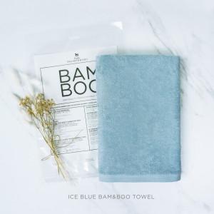 Ice Blue Bam & Boo Towel