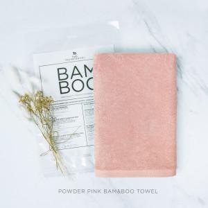 Powder Pink Bam & Boo Towel