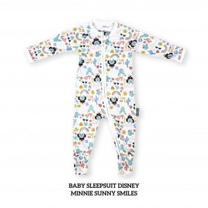 MINNIE SUNNY SMILE Baby Sleepsuit Disney