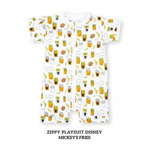 MICKEY'S FRIES Zippy Playsuit Disney