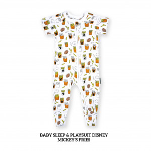 MICKEY'S FRIES Baby Sleep & Play Suit