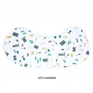 City Garden Burp & Bib