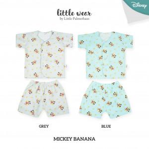 Mickey Banana Little Wear Short Sleeve