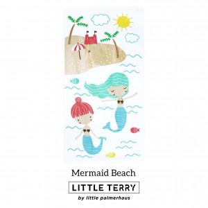 MERMAID BEACH LITTLE TERRY TOWEL