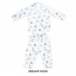 DREAMY POOH Printed Pajamas Long Sleeve Set