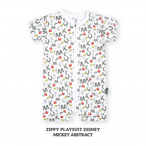 MICKEY ABSTRACT Zippy Playsuit Disney