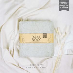 Grey Olive Bam & Boo Bamboo Towel (Big Size)