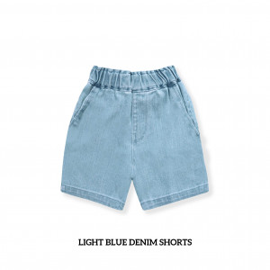 LIGHT BLUE Kids Denim Shorts