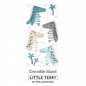 CROCODILE ISLAND LITTLE TERRY TOWEL