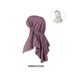 PURPLE PLUM Haifa Instant Hijab