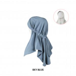 SKY BLUE Haifa Instant Hijab