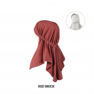 RED BRICK Haifa Instant Hijab