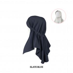 SLATE BLUE Haifa Instant Hijab