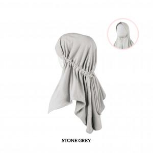 STONE GREY Haifa Instant Hijab