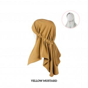 YELLOW MUSTARD Haifa Instant Hijab