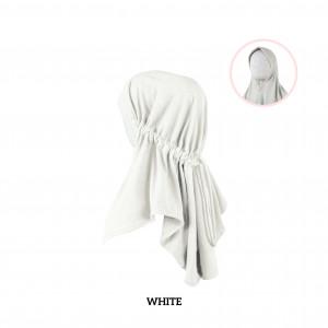 WHITE Haifa Instant Hijab