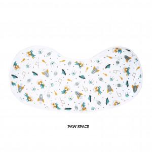 Paw Space Burp & Bib