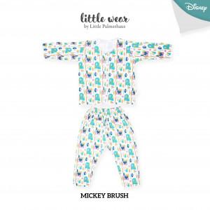 Mickey Brush Little Wear Long Sleeve