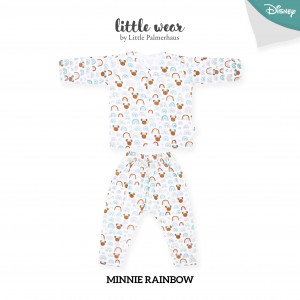 Minnie Rainbow Little Wear Long Sleeve