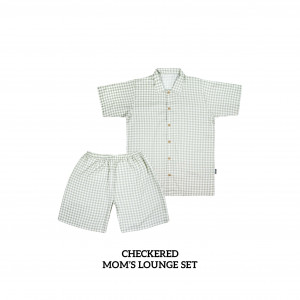 CHECKERED Mom's Lounge Wear
