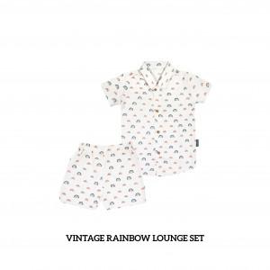 VINTAGE RAINBOW Lounge Wear Set